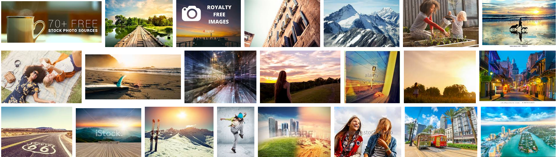 Using Stock Photography