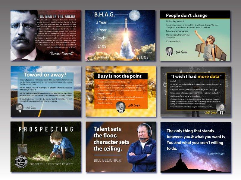 Leadership Postcards