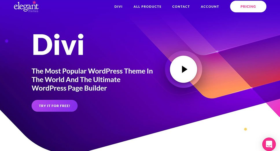 Divi is the WordPress Theme